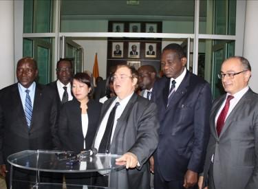 Projet de construction du train à Abidjan : 1500 emplois bientôt créés pour 300 milliards FCFA