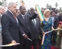 Le Président Alassane Ouattara inaugure le pont Philippe Grégoire Yacé à Jacqueville