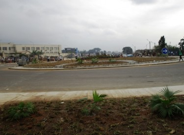 Yopougon : le rond-point du Palais de justice achevé et ouvert au trafic