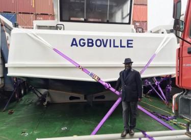 Transport lagunaire : La Lagune Ebrié d`Abidjan accueille de nouveau bateaux