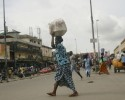 Boulevard Nangui Abrogoua/A peine déguerpis les commerçants et les ordures  signent leur retour