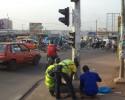 Bouaké : Début de réhabilitation des feux tricolores saccagés lors des violences de juillet