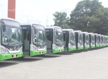 Transport dans la ville d'Abidjan : La SOTRA réceptionne 117 nouveaux autobus sur les 500 attendus d'ici fin juin