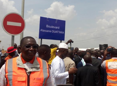 Infrastructures : Le Boulevard Alassane Ouattara de Ferkessedougou inauguré