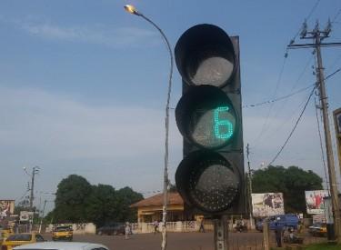 Gagnoa : les premiers feux tricolores mis en service