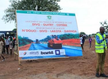 Bitumage des axes N'douci-Gagnoa et Divo-Guitry-Cotière : Amedé Kouakou promet une route de qualité aux populations du Gôh et du Loh-Djiboua