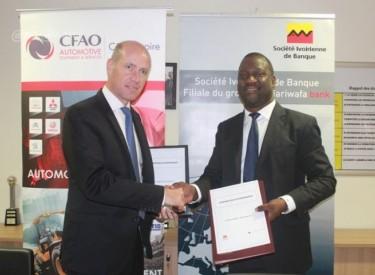 Acquisition d'automobiles : La Cfao et la Sib signent une convention