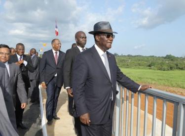 Infrastructures / Ouverture du pont de Béoumi Ouattara fait oublier 43 ans de souffrance