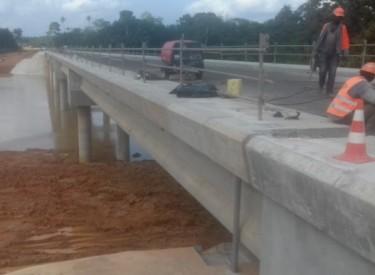 Bettié : le pont sur le fleuve Comoé sera officiellement livré vendredi