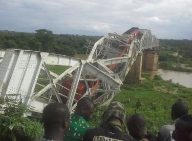 Côte d'Ivoire : Affaissement d'un pont ferroviaire au passage d'un train