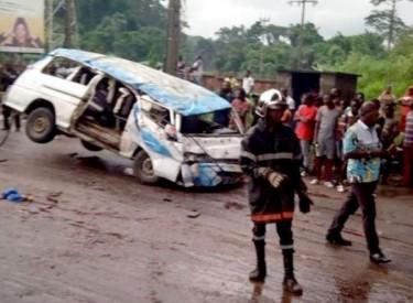 Autoroute du Nord: un gbaka a (encore) chuté du pont du Banco ce vendredi