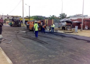 Les travaux de bitumage de l'axe carrefour Bandjidrome-Gbagba à Bingerville lancés