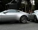 Vidéo : 4 Aston Martin DB10 sur le tournage de James Bond