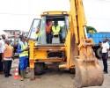 Infrastructure Routière : le maire lance des travaux de bitumage de la commune de Koumassi
