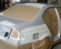 Comment peindre une voiture - Etape 2 : Peindre la voiture