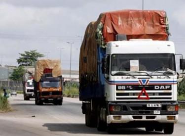 Transport routier : Des camions ne circuleront plus dès août
