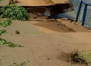 Affaissement du pont routier entre le Bénin et le Niger
