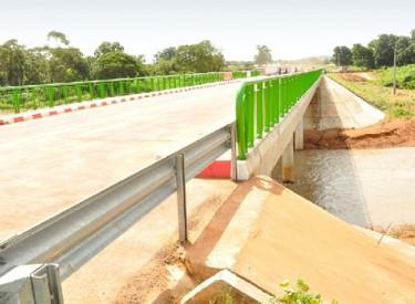 Les populations de Dioulatièdougou satisfaites du pont de la rivière Tiemba