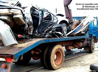 Enlèvement de véhicules accidentés ou en panne sur les routes… Attention aux entreprises fictives de dépannage et de remorquage !