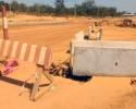 Bitumage Odienné-Boundiali : des stratégies adoptées pour atténuer la poussière à Madinani