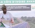Inauguration de l'axe Boundiali-Tengrela frontière du Mali par Alassane Ouattara