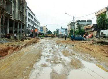 Infrastructures routières/Réhabilitation de la rue Ministre