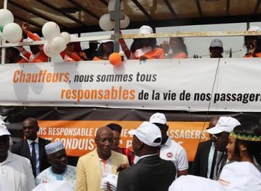 Lancement à Abidjan d'une campagne nationale de sensibilisation pour la sécurité routière