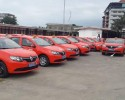 Remise à Abidjan de 27 taxis-compteurs à un groupement de transporteurs