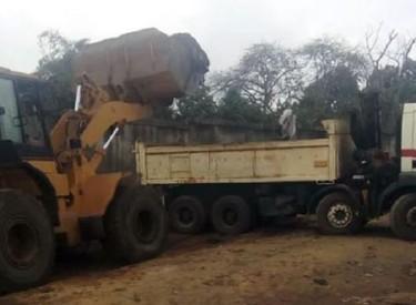 Des voiries d'Agbékoi en reprofilage pour désengorger les embouteillages au rond-point d'Abobo