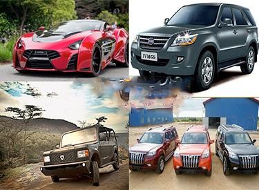 Automobile : 6 voitures fabriquées en Afrique